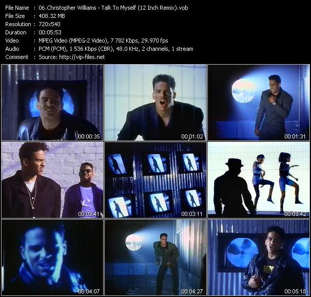 Christopher Williams - Talk To Myself (12 Inch Remix)