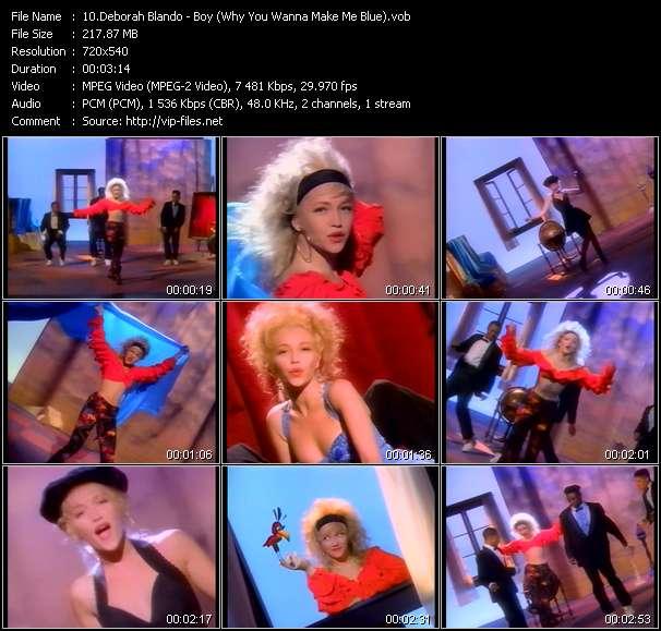 Deborah Blando - Boy (Why You Wanna Make Me Blue)