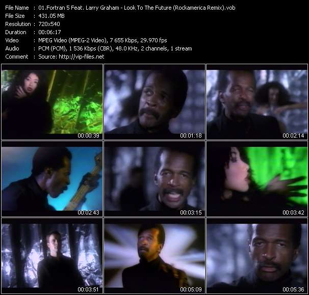 Fortran 5 Feat. Larry Graham - Look To The Future (Rockamerica Remix)