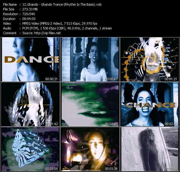 Ghando - Ghando Trance (Rhythm Is The Basis)