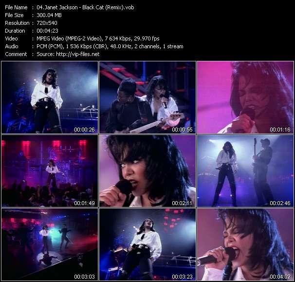 Janet Jackson - Black Cat (Remix)