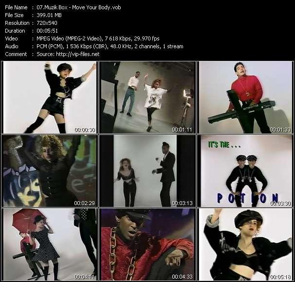 Muzik Box - Move Your Body