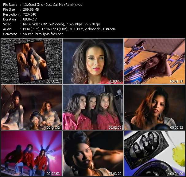 Good Girls - Just Call Me (Remix)