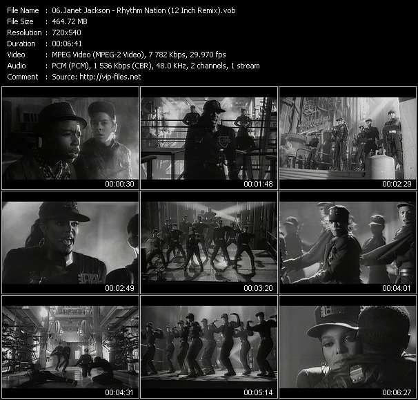 Janet Jackson - Rhythm Nation (12 Inch Remix)