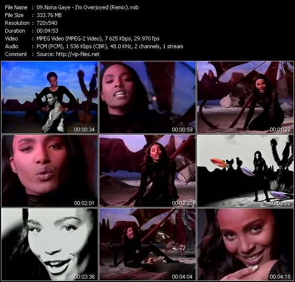 Nona Gaye - I'm Overjoyed (Remix)