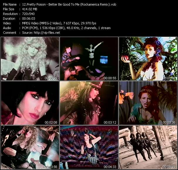 Pretty Poison - Better Be Good To Me (Rockamerica Remix)