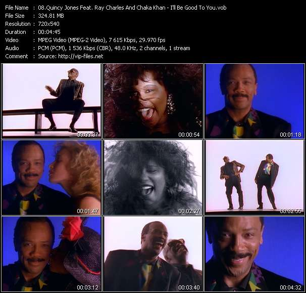 Quincy Jones Feat. Ray Charles And Chaka Khan - I'll Be Good To You