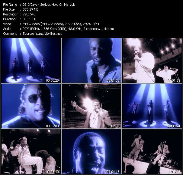 O'Jays - Serious Hold On Me