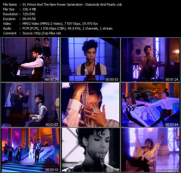 Prince And The New Power Generation - Diamonds And Pearls