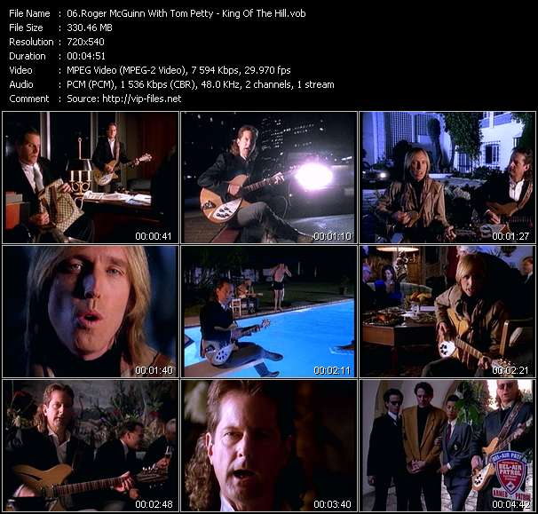 Roger McGuinn With Tom Petty - King Of The Hill