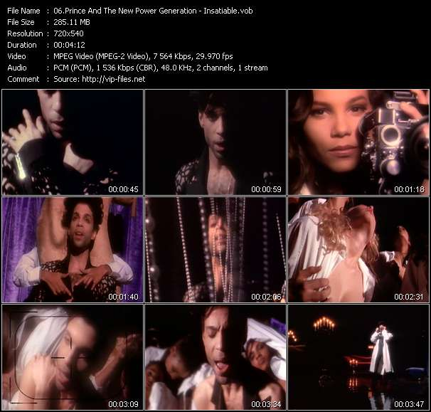 Prince And The New Power Generation - Insatiable