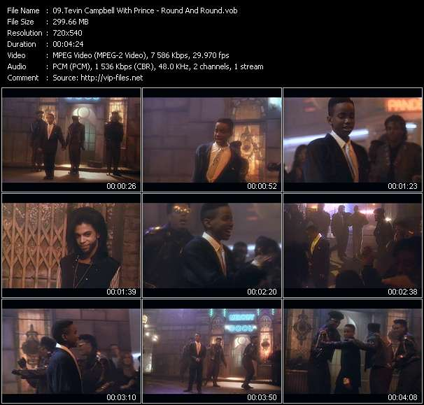 Tevin Campbell With Prince - Round And Round