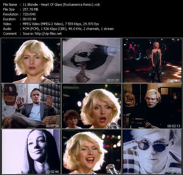 "Blondie - Heart Of Glass (Rockamerica Remix) (From The Film: ""Superstar: The Life And Times Of Andy Warhol"")"
