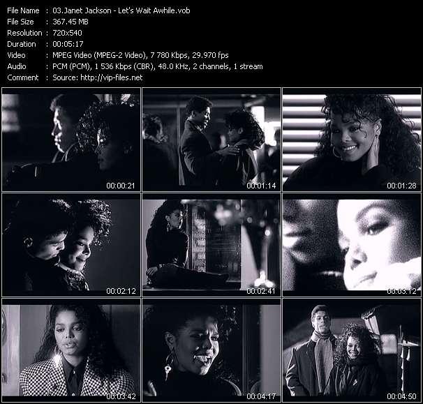 Janet Jackson - Let's Wait Awhile