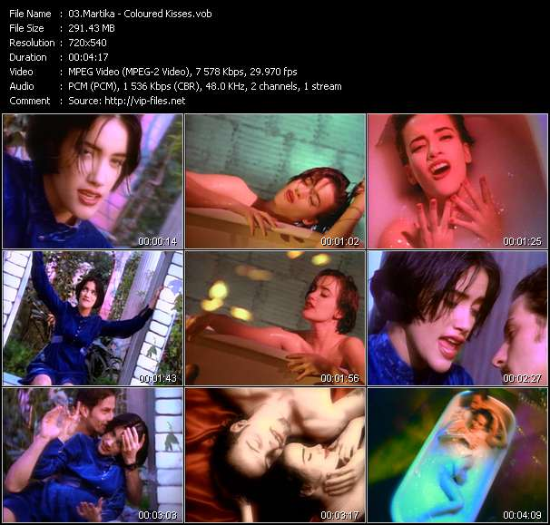 Martika - Coloured Kisses