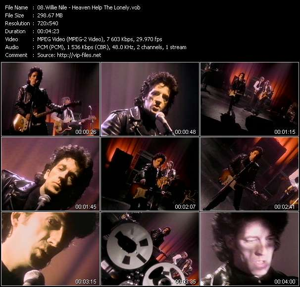 Willie Nile - Heaven Help The Lonely