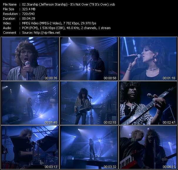 Starship (Jefferson Starship) - It's Not Over ('Til It's Over)