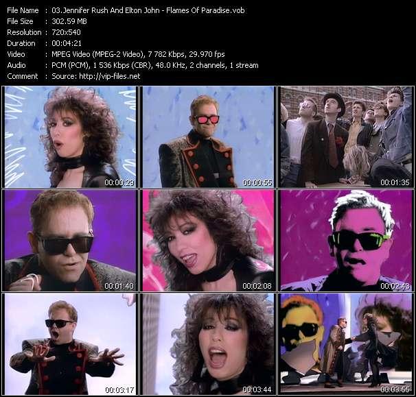 Jennifer Rush And Elton John - Flames Of Paradise