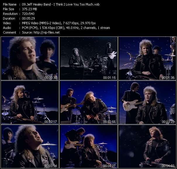 Jeff Healey Band - I Think I Love You Too Much