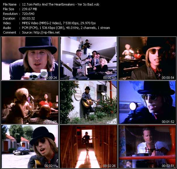 Tom Petty And The Heartbreakers - Yer So Bad