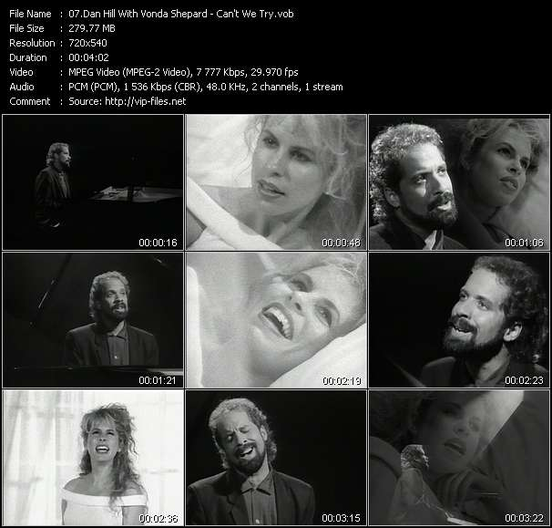Dan Hill With Vonda Shepard - Can't We Try