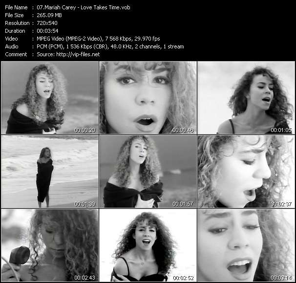Mariah Carey - Love Takes Time