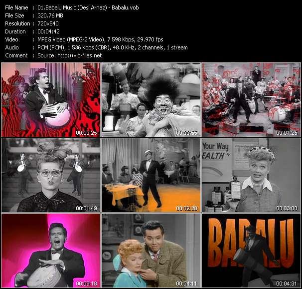 Babalu Music (Desi Arnaz) - Babalu