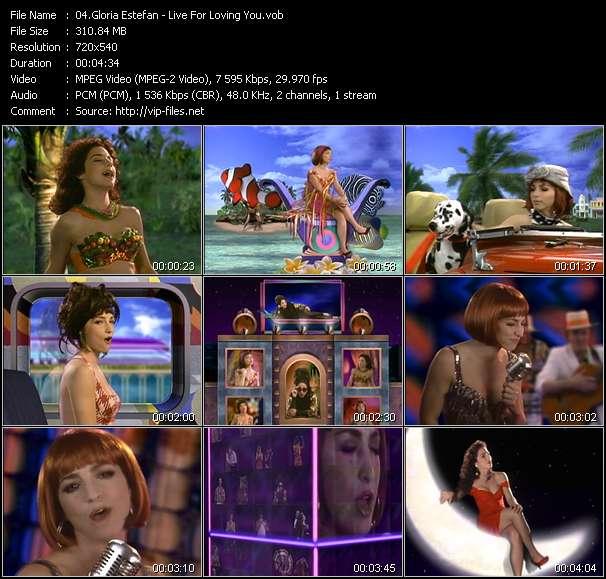 Gloria Estefan - Live For Loving You