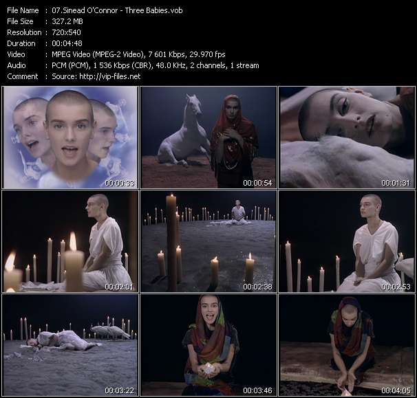 Sinead O'Connor - Three Babies