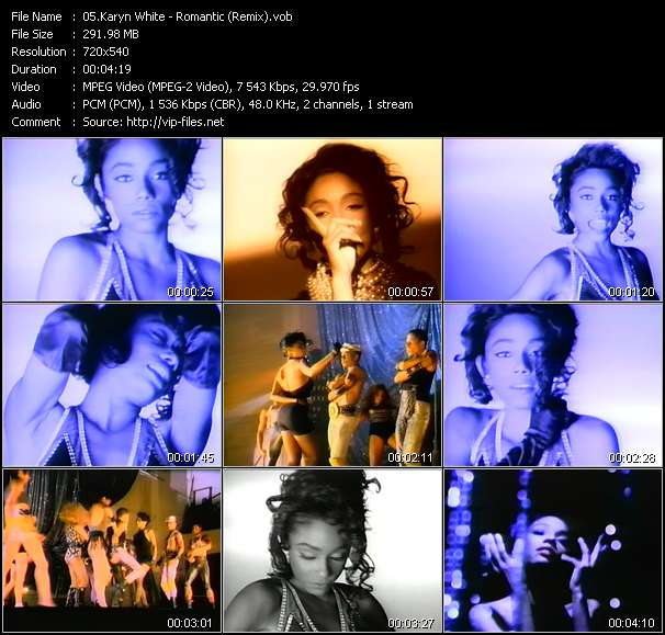 Karyn White - Romantic (Remix)
