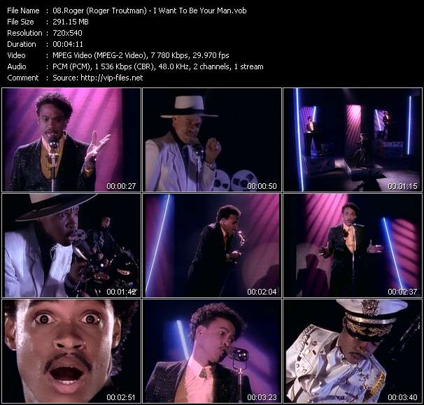 Roger (Roger Troutman) - I Want To Be Your Man