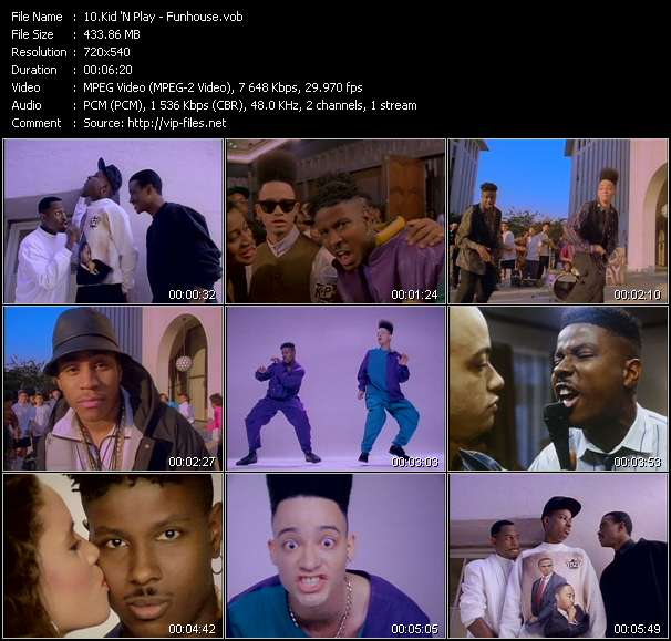 Kid 'N Play - Funhouse
