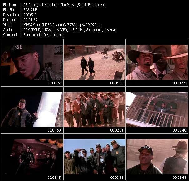 Intelligent Hoodlum - The Posse (Shoot 'Em Up)