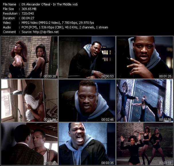 Alexander O'Neal - In The Middle