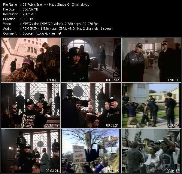 Public Enemy - Hazy Shade Of Criminal