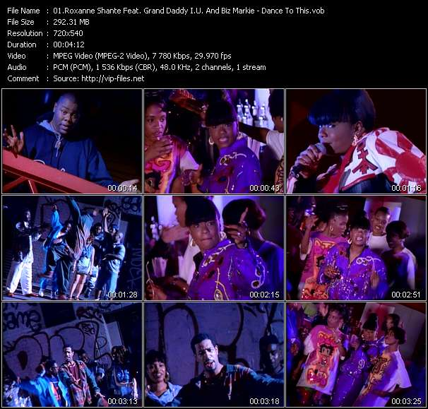 Roxanne Shante Feat. Grand Daddy I.U. And Biz Markie - Dance To This
