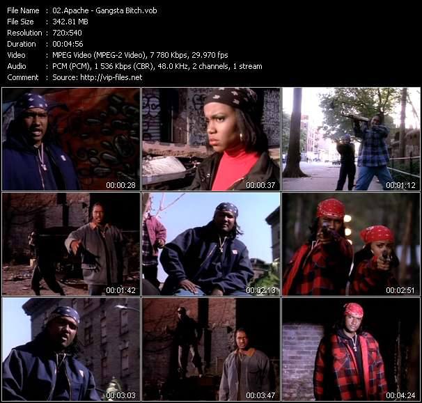 Apache - Gangsta Bitch