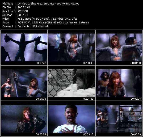 Mary J. Blige Feat. Greg Nice - You Remind Me