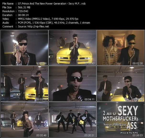 Prince And The New Power Generation - Sexy M.F.