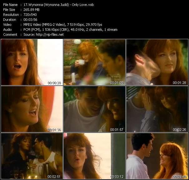 Wynonna (Wynonna Judd) - Only Love