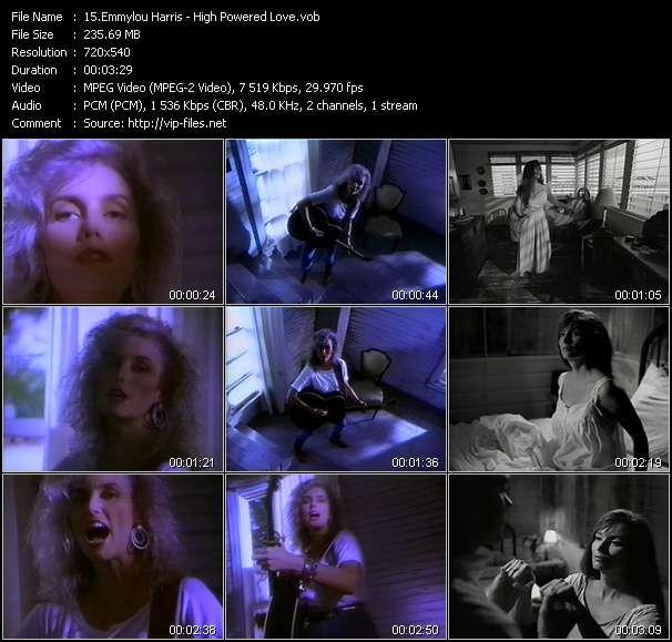 Emmylou Harris - High Powered Love