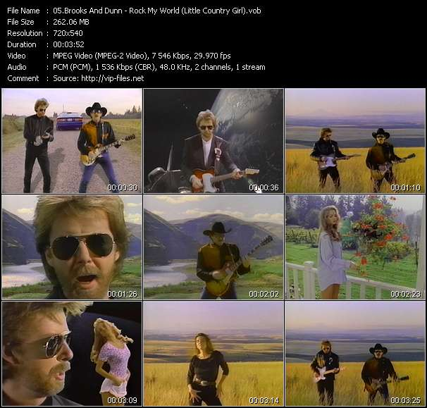 Brooks And Dunn - Rock My World (Little Country Girl)