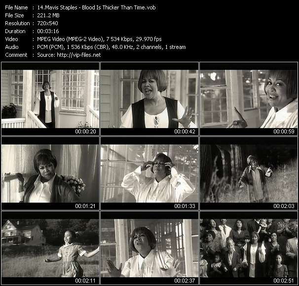 Mavis Staples - Blood Is Thicker Than Time