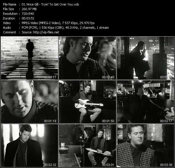 Vince Gill - Tryin' To Get Over You
