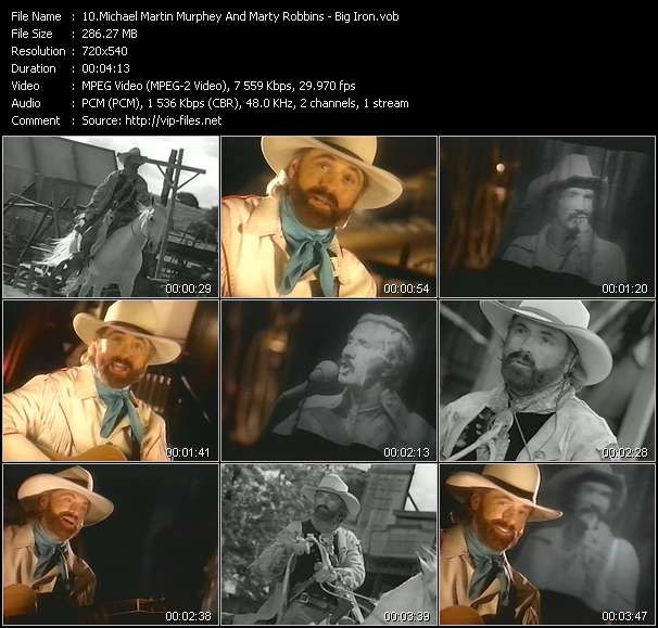 Michael Martin Murphey And Marty Robbins - Big Iron