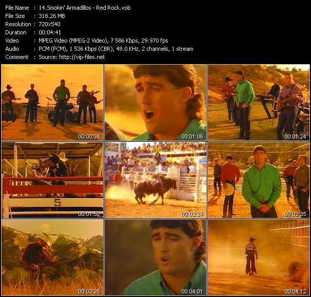 Smokin' Armadillos - Red Rock