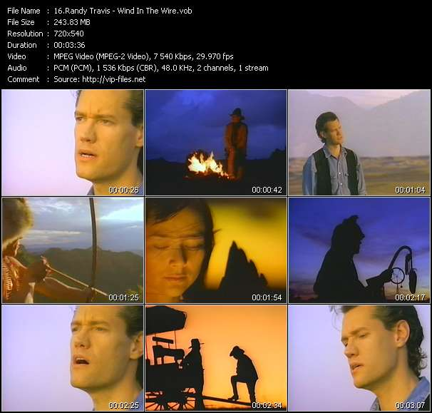 Randy Travis - Wind In The Wire