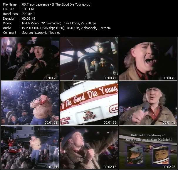 Tracy Lawrence - If The Good Die Young