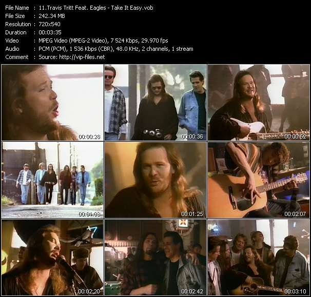 Travis Tritt Feat. Eagles - Take It Easy