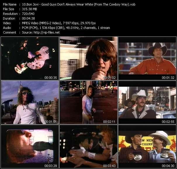"Bon Jovi - Good Guys Don't Always Wear White (From ""The Cowboy Way"")"